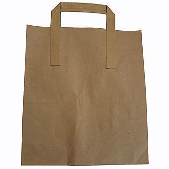 Weller Packaging Brown Takeaway bags