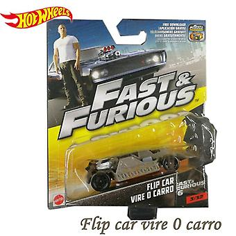 Genuine Hot Wheels Fast And Furious Movie Model Fashion Cool Alloy Diecast Car