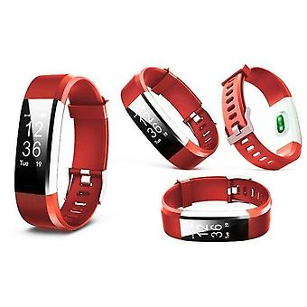 Aquarius Touch Screen Fitness Activity Tracker with Dynamic HRM - Red