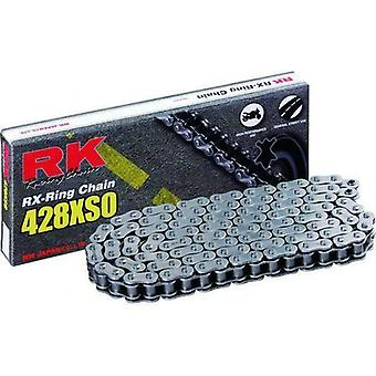 RK 428XSO 132 Link RX-Ring Street Racing Chain Black fits Yamaha YZF-R125 MT125