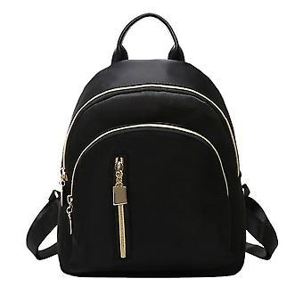 Small Travel Backpacks, Zipper Closure Oxford Daypack Schoolbag Set