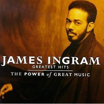 James Ingram - importation des USA de la puissance de la grande musique-Greatest Hits [CD]