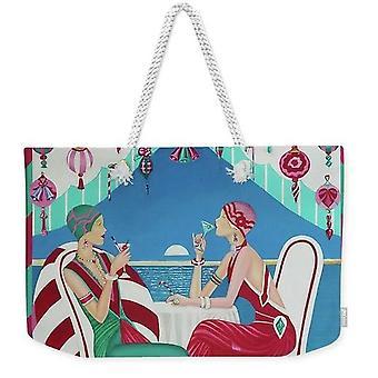 Christmas Cruisin Weekender Tote Bag