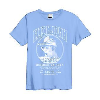 Amplified Elton John Live in Concert Blue T-shirt