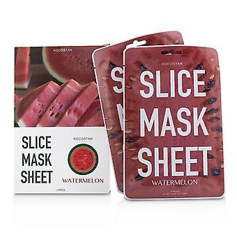 KOCOSTAR Slice Mask Sheet - Watermelon (Exp. Date 04/2021) 10sheets
