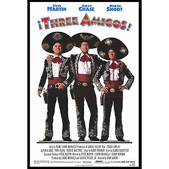 Three Amigos Movie Poster Print (27 x 40)