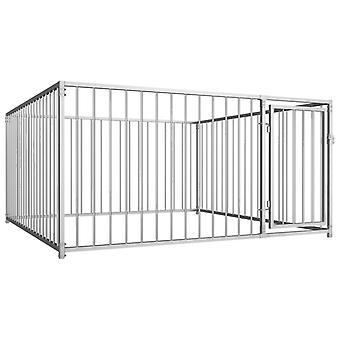 Outdoor dog kennel 200×200×100 cm