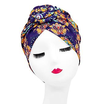 Indian Arab Wrap Femei Cap Eșarfă Turban Caps Trendy Imprimate Hijab & Interior