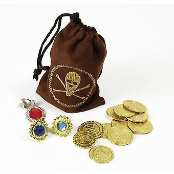 Bristol nowość ba1089 pirackie monety i biżuteria, unisex-adult, jeden rozmiar 1