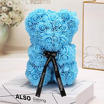 ראשי פרחים מלאכותיים. דיא טדי דוב עובש Pe רוז