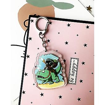 Baby Star Wars Acrylic Keychain, Bag Pendant Accessories, Kids Keyring