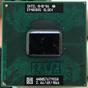 Intel Core Duo, Cpu Laptop Processor, Pga Working Properly