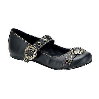 Demonia Women's Shoes DAISY-09 Blk Vegan Leather