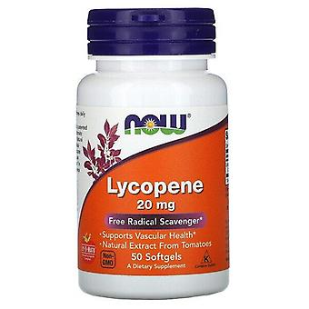 Ora Alimenti, Lycopene, 20 mg, 50 Softgels