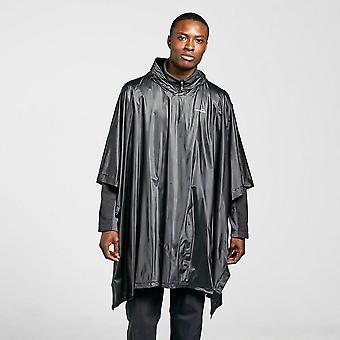 New Freedomtrail Men's Poncho Black