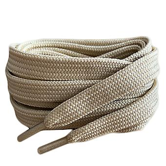Oatmeal Flat Trainer Shoelaces Laces