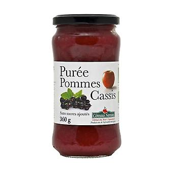 Apple Cassis puree without sugar 360 g
