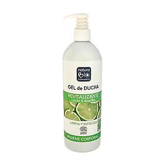 Lemon & Aloe Revitalizing Shower Gel Bio 740 ml of gel