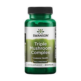 Triple Mushroom Complex 60 capsules