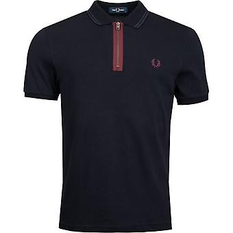 Fred Perry Authentics Zip Neck Polo Shirt