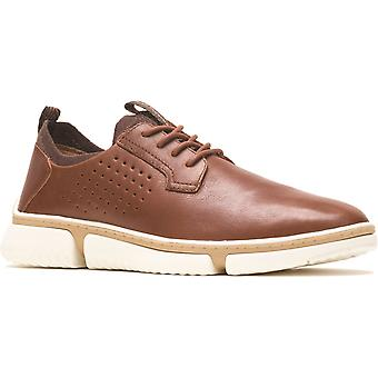 Hush Puppies bennet oxford leather mens casual shoes cognac UK Size