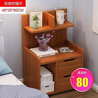 Simple Bedside Table Storage Small Cabinet