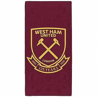 West Ham United FC Crest Rantapyyhe