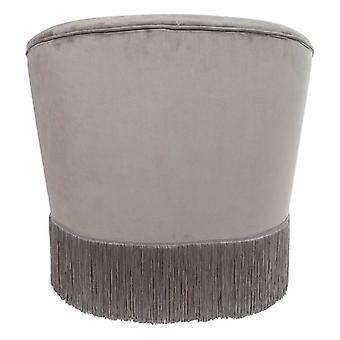 Armchair Dekodonia Grey Polyester (67 x 60 x 71 cm)