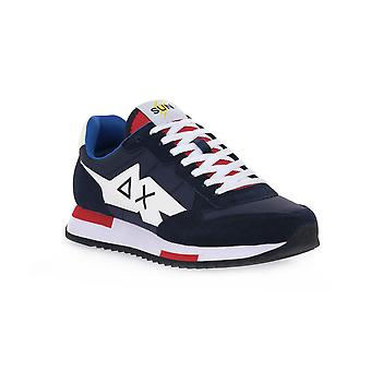 Sun68 07 niki solid navy sneakers fashion