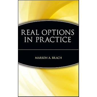 Todellisia vaihtoehtoja käytännössä Marion A. Brach - 9780471263081 Kirja