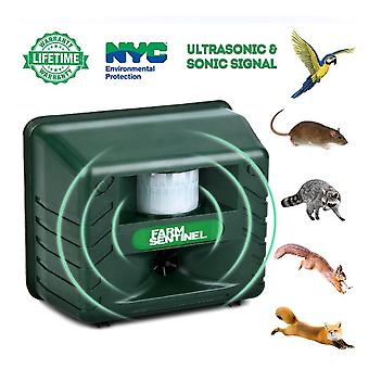 Ultrasonic Pest Animal Repeller Outdoor, Pest Animal Repeller