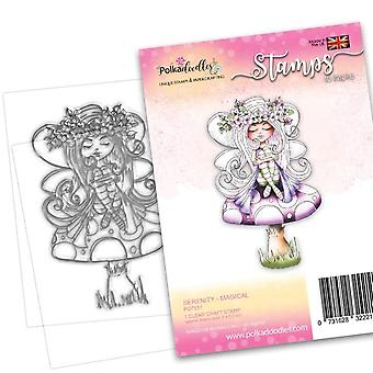 Polkadoodles Serenity Magical Clear Stamps