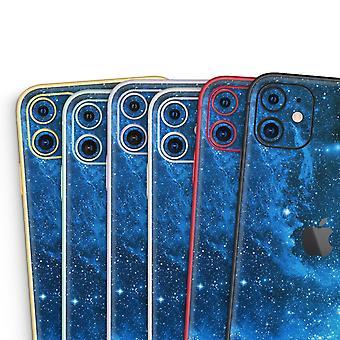 Blå nuancetåge - Skin-kit kompatibel med Apple Iphone 12, 12 Pro