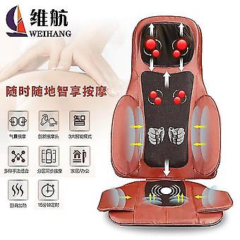 Massage cushion whole body multifunctional vertebral back waist kneading and beating car luxury home massager