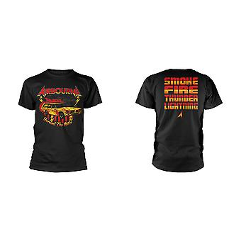 Airbourne Nitro Vintage Officiell Tee T-Shirt Unisex