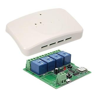 Sonoff 4ch DC 5VSmart Remote Control Wireless Switch with Shell Universal Module
