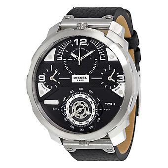 שעון גברים אנלוגי דיזל עם רצועת עור DZ7379