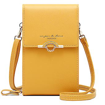 Fashion vertical mini mobile phone messenger bag
