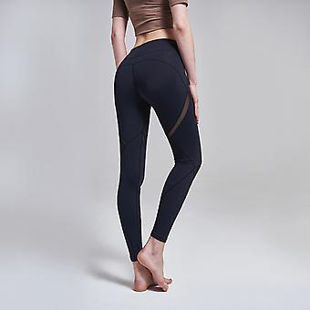 SPORX Women's Yoga Pants Compression Slim Fit Black