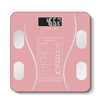 Weight Bathroom Digital Weight Scale(Pink)