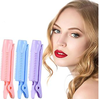 4pcshair Root Fluffy Clip Bangs Wave Styling Chuck Top Fluffy Clip