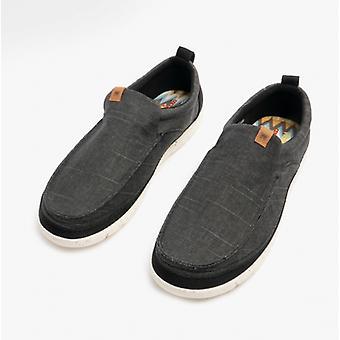 Wrangler Kohala Slip en zapatos casuales para hombre negro