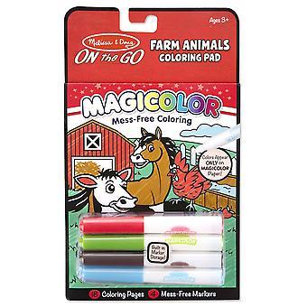 Melissa & Doug landbouwhuisdieren kleuren Pad