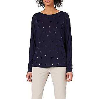 Springfield Camiseta Cristales Fantas a T-Shirt, Medium Blue, S Woman