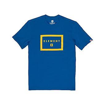 T-shirt à manches courtes Element Banzer en bleu nautique