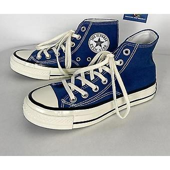 Män Canvas Skor, man / kvinnor vulkaniserade skor