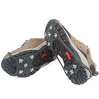 1 Pair Professional Climbing Ice Crampon Winter Outdoor Shoes Spike Grip