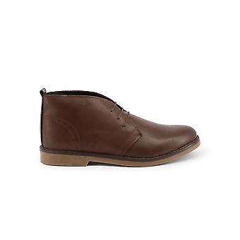 Duca di Morrone - Shoes - Lace-up shoes - 233-PELLE-MARRONE - Men - sienna - EU 42