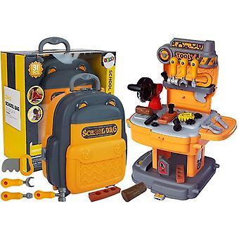 Conjunto de jogos de ferramentas infantis - incluindo mochila de armazenamento