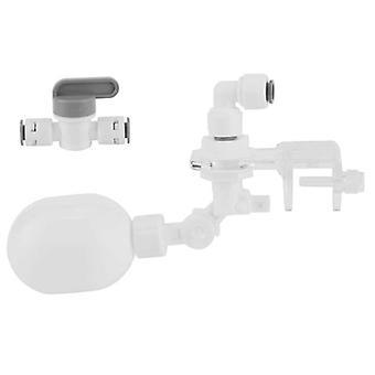 Plovoucí kulový ventil Automatický regulátor plnění vody pro akvarijní potřeby pro domácí mazlíčky